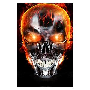 Terminator. Размер: 20 х 30 см